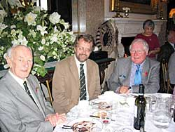 Annual Luncheon: from left to right Neville Hoskins, John Beckett, Brian Howes.