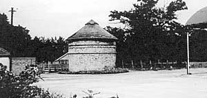The dovecote at Thoroton.
