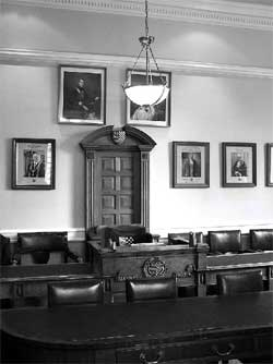 The Stamford Council Chamber.