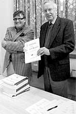 David Bagley and Professor Martyn Bennett distributed copies of the Transactions.