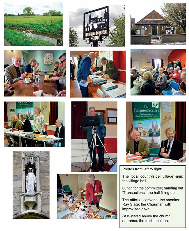 Photographs of the AGM