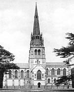 Clumber chapel in 1900
