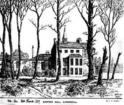 Basford Hall in 1939 (courtesy of Nottingham Local Studies Library)