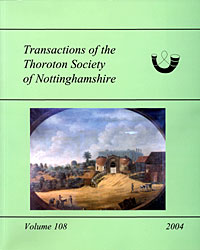 Cover of Transactions vol 108 (2004)