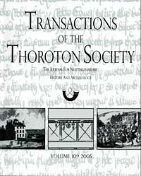 Cover of Transactions vol 109 (2005)